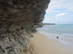 砂浜の先…