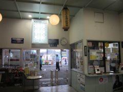 那珂湊駅の待合室
