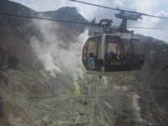 大涌谷の噴火口