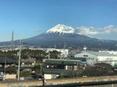 ずっと見えてる富士山