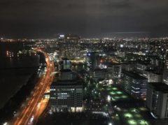 福岡の街を一望できるが…