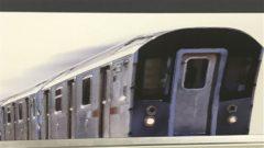 ニューヨーク市の地下鉄みたい