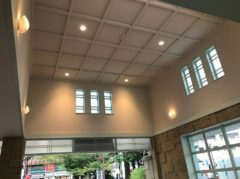 駅舎の天井