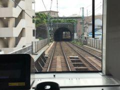 横浜を過ぎるとトンネルが増える
