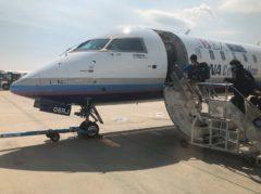 CRJ700は初めて乗る