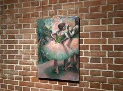 エドガー・ドガ《踊り子たち (ピンクと緑)》1894年