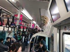 乗客はそれほど多くない