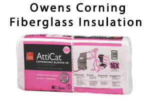Owens Corning Fiberglass Insulation