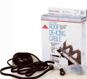 Roof & Gutter Deicing Heat Cables