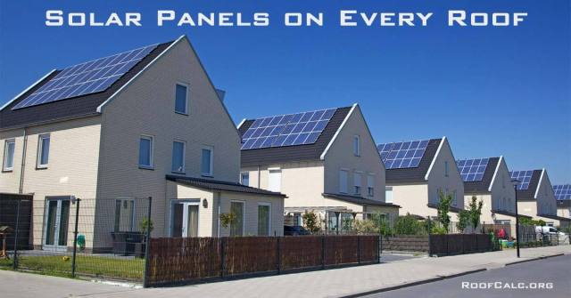 Obama's Solar Panels on Every Roof Program