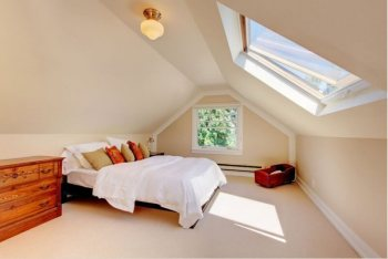 Vented Skylight in the Bedroom