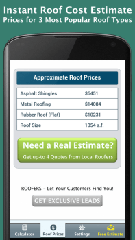 Roof Calculator FREE - Roof Prices