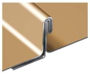 Field-Lock Metal Panels