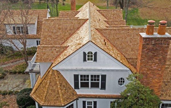 Natural Cedar Roof