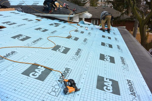 Deck Armor Roof Underlayment Installation