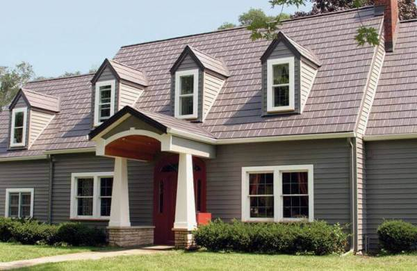 EDCO Metal Shingle Steel Roof