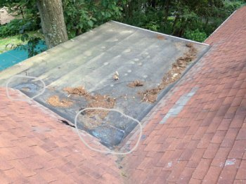 Failing Rubber Roofs