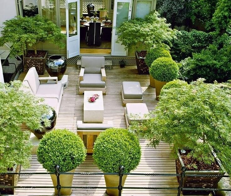 Flat Roof Design Rooftop Garden Roofcalc Org