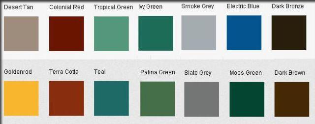 Colors for GAF TPO