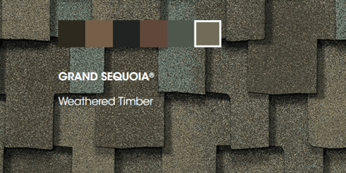 Grand Sequoia roofing colors