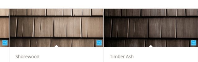 Metal Shingle Colors - Shake Profile