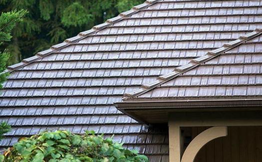 Metal Shake Roof