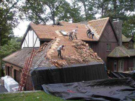 Old Roofing Shingles Removal