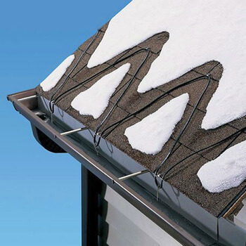 ice dams heat cable