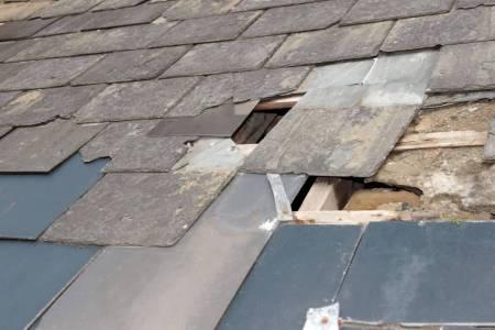Roof failure