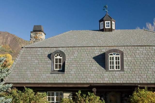 Synthetic Slate Roofing - Davinci Slate