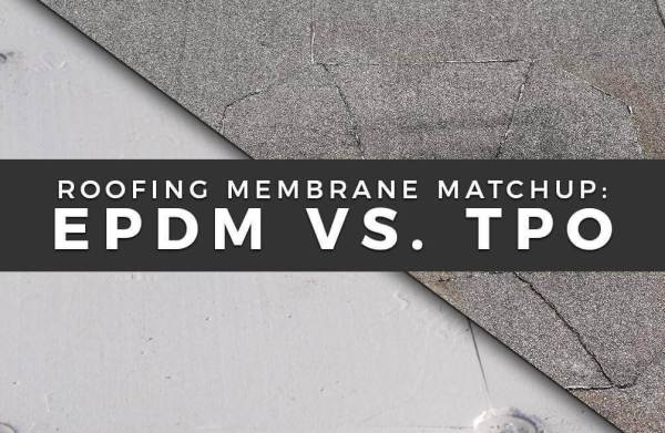 TPO vs. EPDM rubber
