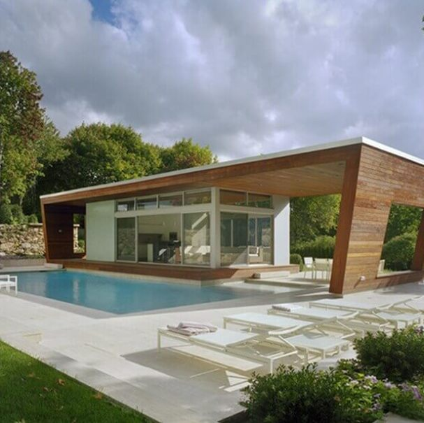 Ultra Modern Architecture House with a TPO Roof