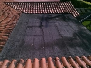 Roof Coating application in Miami Lakes