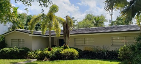 Concrete tile roof in Miami Shores