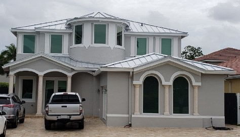 Mill-grade metal roofing in Miami