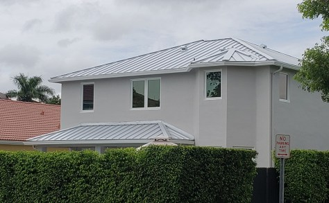 Metal roof in Miami, FL