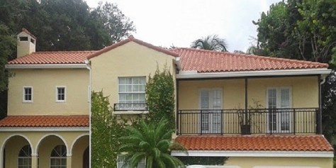 Clay Tile Roof in Coral Gables