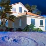 House in a hurricane