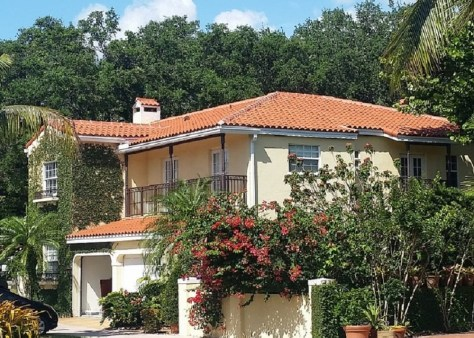 Verea Clay Tile Roof in Miami