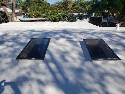 Skylight installation in Pinecrest