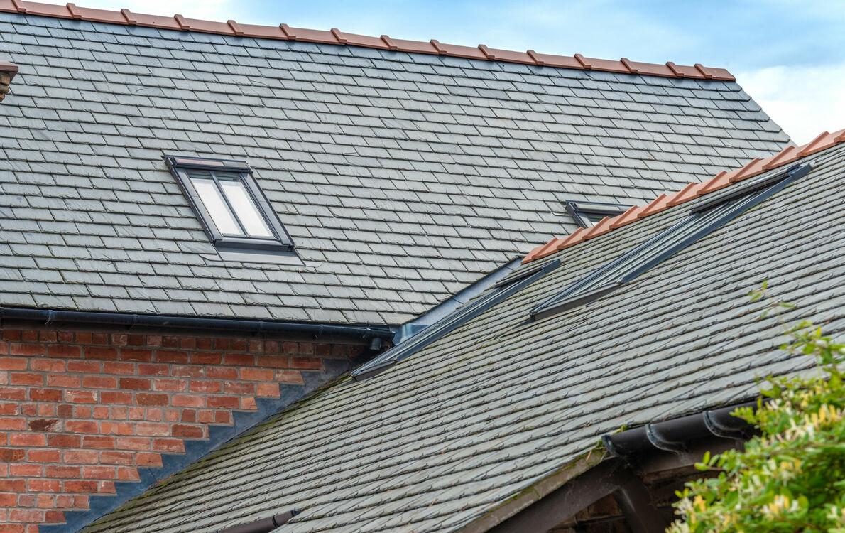ssq montegris standard spanish slate roof tile 500mm x 450mm