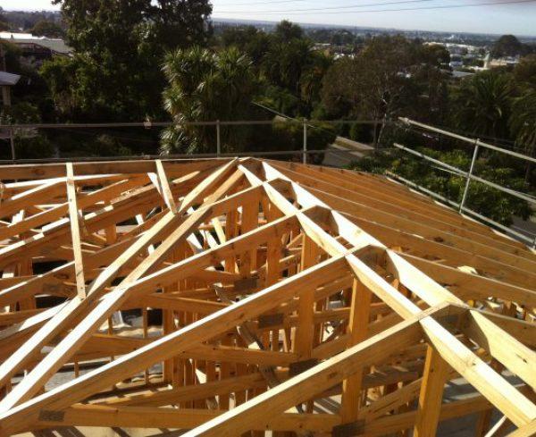 ridge frame installation