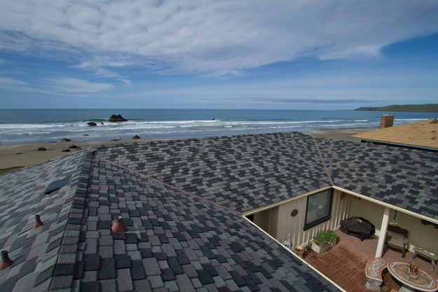 Synthetic composite slate shake roofing costs davinci for Davinci synthetic slate price