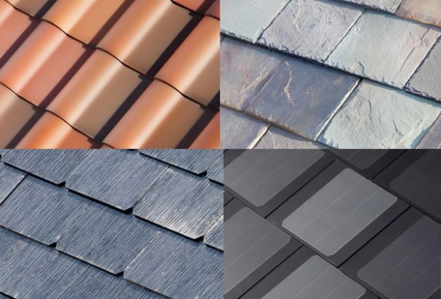 Pv Solar Shingles Roof From Tesla Evolution Of Solar