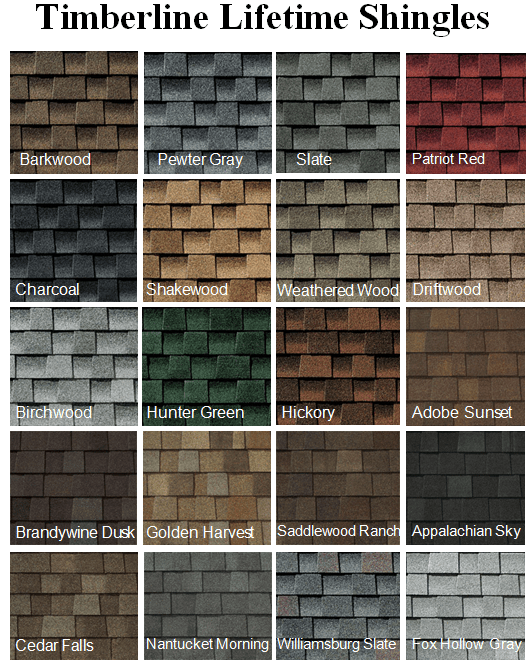 Roof shingle colors how to pick the best asphalt shingle color for
