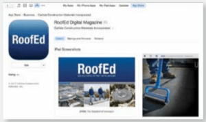 Carlisle SynTec Systems has made available its RoofEd eBook for download through iTunes and Google Play.