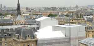 Crystal roof coating helps reduce energy costs.