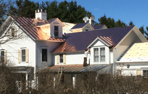 Ultimate Brackets improved the safety and efficiency of metal roof installation for contractors. PHOTO: MetalPlus LLC