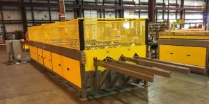 The Union Corrugating trim line allows for additional product capacity.