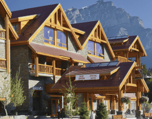 "The Moose Hotel & Suites was required to adhere to Banff's design guidelines, which were developed ""to prevent any monstrosities being put there to destroy the general beauty of the park."""